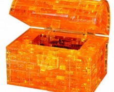3D Treasure Chest Puzzle
