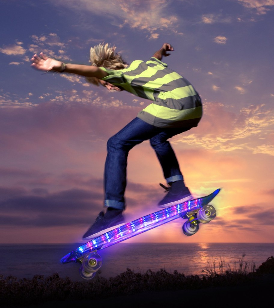 Light Up LED Skateboard
