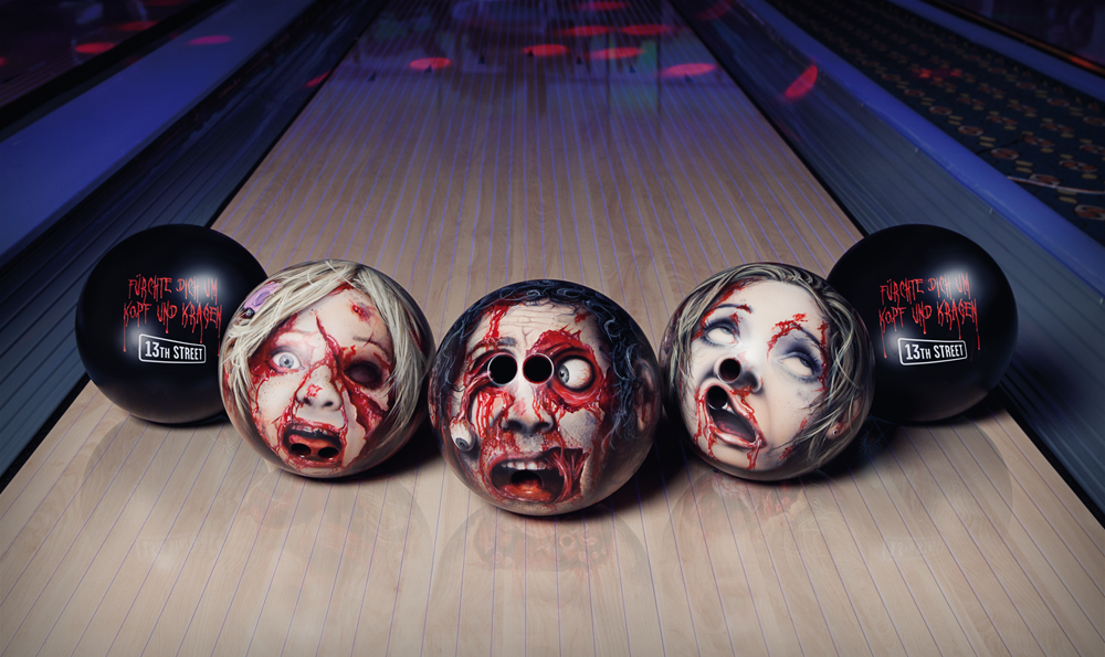 Zombie Bowling Heads